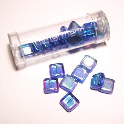 kwadraatparels 8 mm kleur 9626