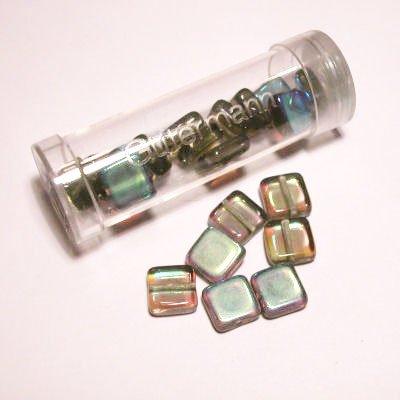 kwadraatparels 8 mm kleur 2525