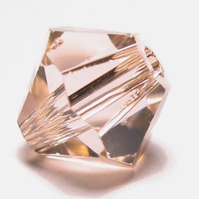 swarovski facet 4mm light peach