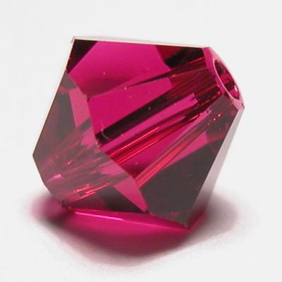 swarovski facet 4mm ruby