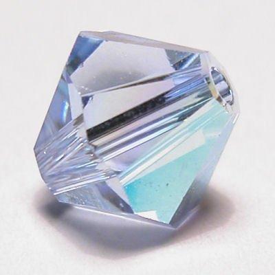 swarovski facet 4mm light sapphire AB