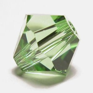 swarovski facet 6mm peridot