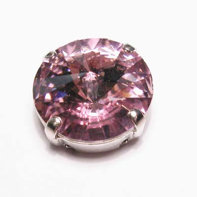 steen in kastje 14 mm hell amethyst