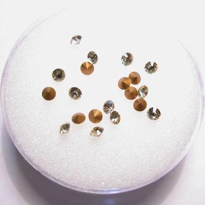 swarovski similisteen rond jonquil 2 mm