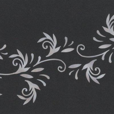 vouwkaart leaves 10x30,5 cm
