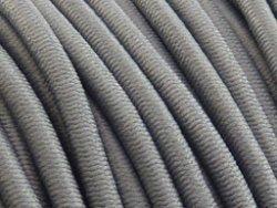 elastisch draad/stiek 3 mm grijs