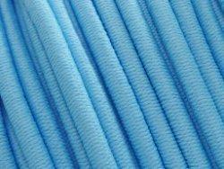 elastisch draad/stiek 3 mm blauw