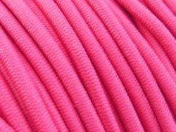 elastisch draad/stiek 3 mm donker roze