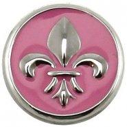 Easy button franse lelie roze