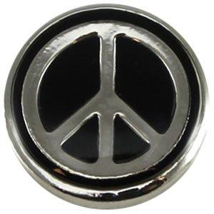 Easy button peace2 zwart