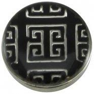 Easy button fantasie3 zwart