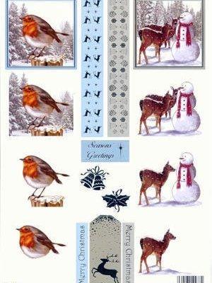 stansvel kerst roodborstje