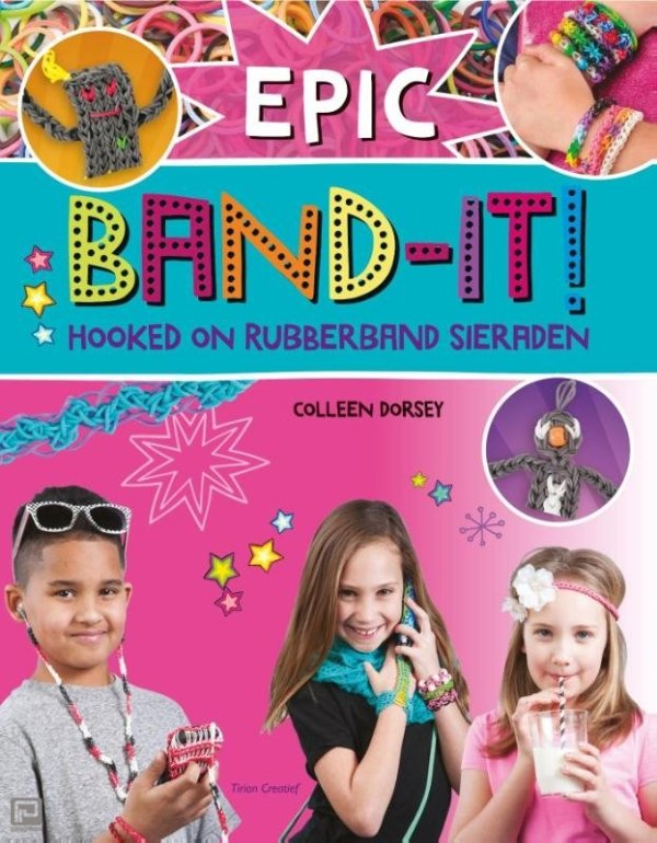 Epic Band-it ! Hooked on rubberband sieraden