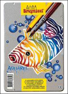 aquarel kleurpotloden