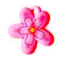 Add-ies  bloem roze