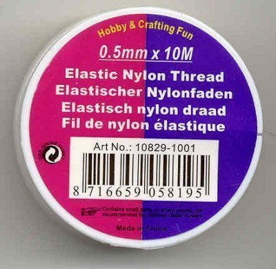 elastisch nylon 0,5 mm