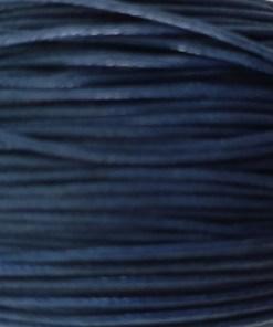 Waxkoord 1.0mm Blauw (1M)