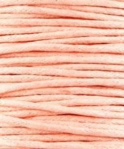 Waxkoord 1.5mm Peach (1M)