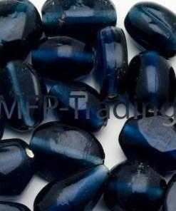 Glaskralen mix Montana blauw (10-16mm)
