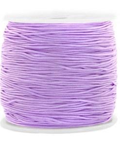 Macramé satijndraad 0.8mm Violet Lila