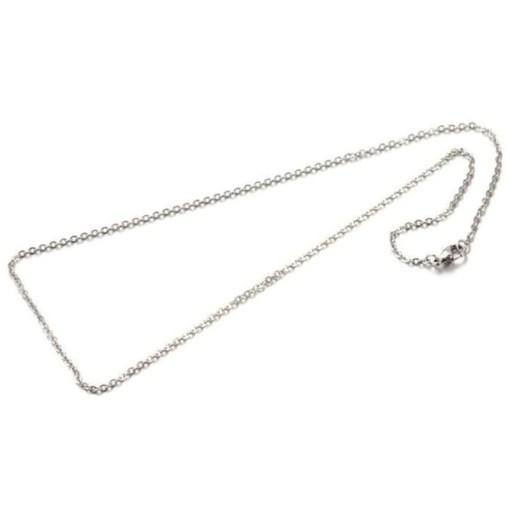 Roestvrij stalen (RVS) Stainless steel kettingen Mix & Match Zilver