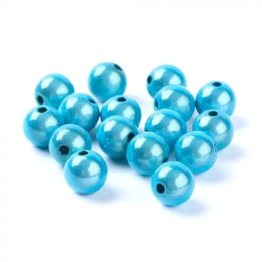 3D Miracle beads 16mm Turquoise