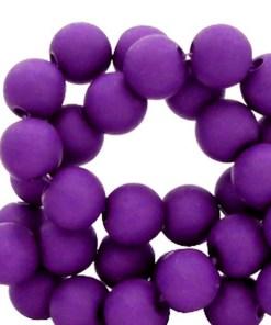 Acryl kralen matt 4mm Tillandsia purple