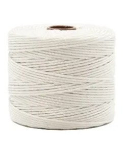 Nylon S-Lon rijgdraad 0.6mm Off White