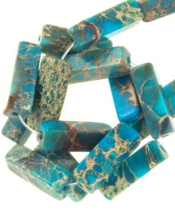 Regalite Kralen (14 x 4 mm) Turquoise