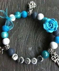 Armband Tessy blauw