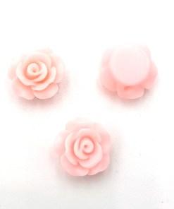 Acryl kraal roos licht roze 9mm