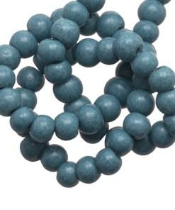 Glaskralen stonewash jeans blue 6mm
