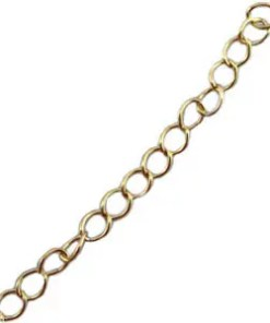DQ verlengketting DQ goud plated duurzame plating 3mm