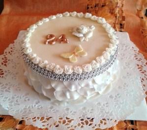Stylový dort pro mladou slečnu