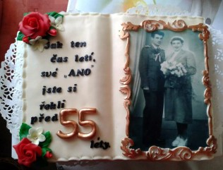 Dort k 55. výročí svatby