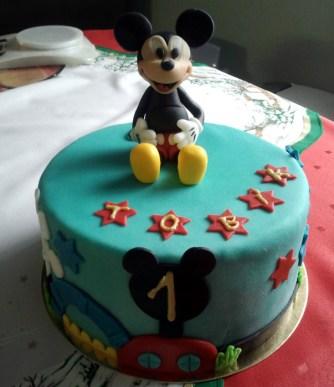 Dětský dort Mickey Mouse