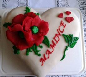 Krásný dort pro maminky