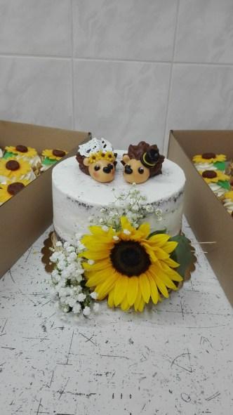 Svatební s cupcake