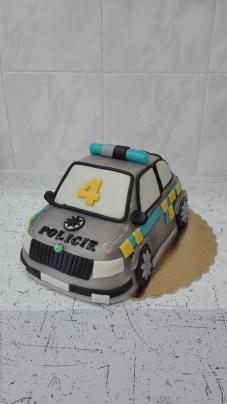 Dort autíčko policie