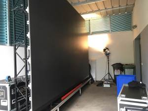 Test unserer neuen LED-Wand