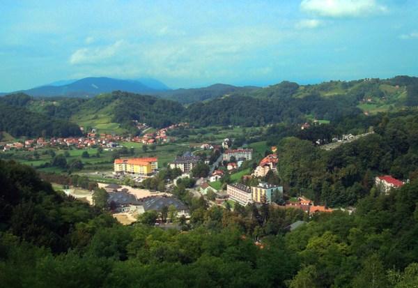 Krapinske Toplice panorama