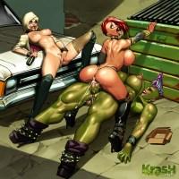 Black Widow Deep Stuffing!