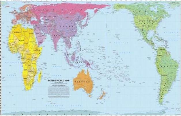 карта мира 4