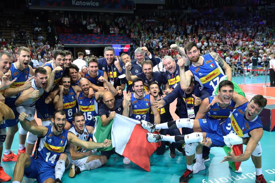 Pallavolo: 3-2 alla Slovenia, l'Italia vince gli Europei