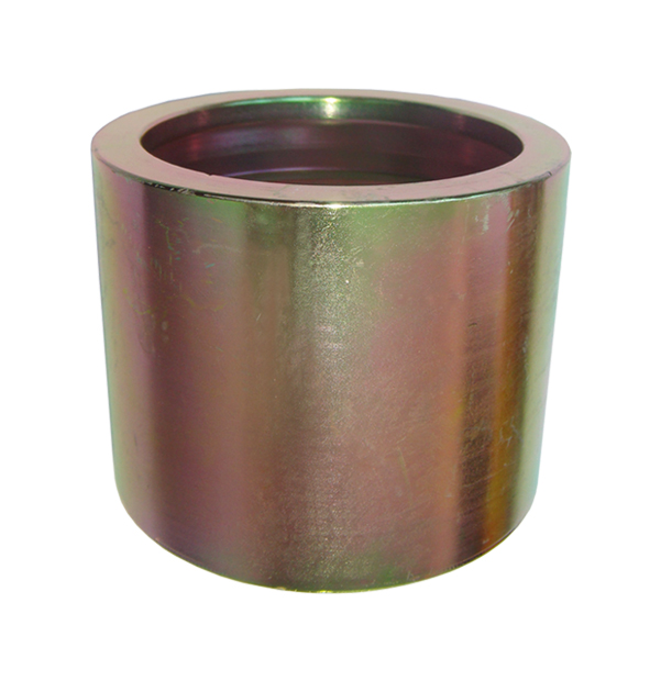 Crimping socket for hydraulic crimping