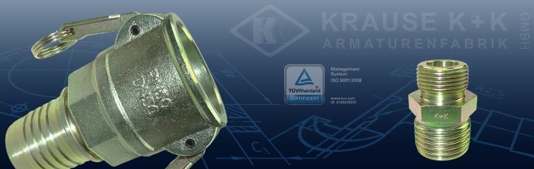 Krause K + K GmbH -Kupplungen-Druckluftarmaturen-Fittings