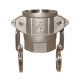 Camlock coupler with female thread type DF