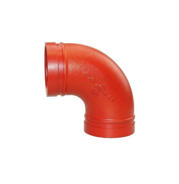 Nut-Bogen 90° Nr. 90 rot
