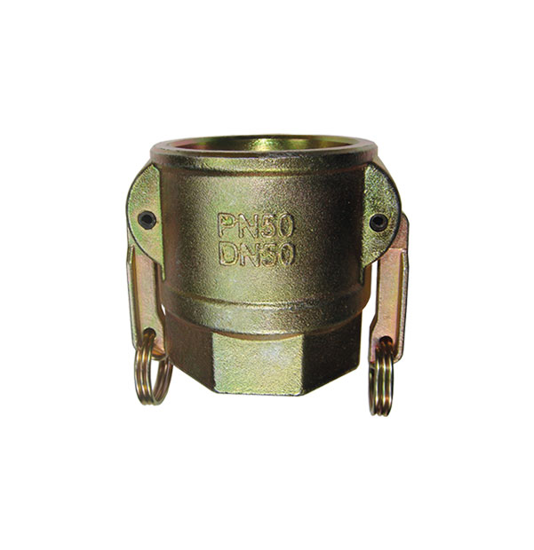 Coupler with female thread, 2-handles