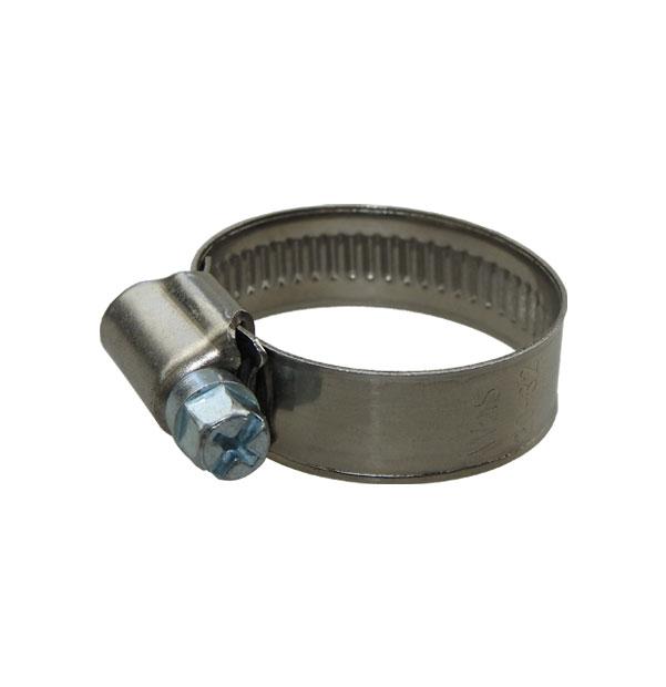 Schlauchschelle 12 mm Bandbreite DIN 3017 W2